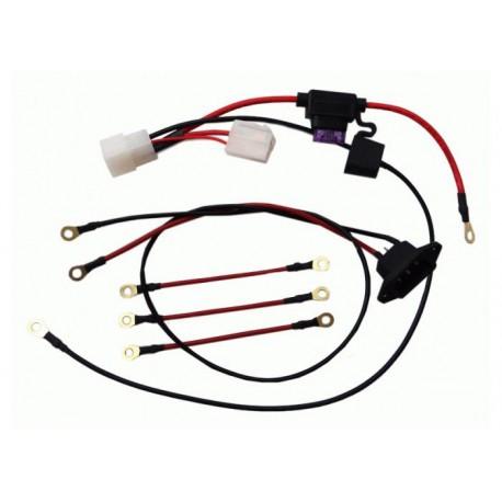 Проводка -полный набор для подкл.к ЗУ-48V и Контролеру