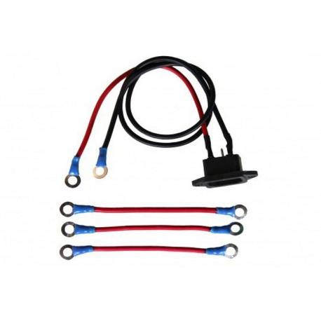 Проводка для соединения 4 аккумуляторов и подключения з/у 48V