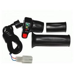 Ручка газа с индикатором заряда 24V и кнопкой круиз-контроля.