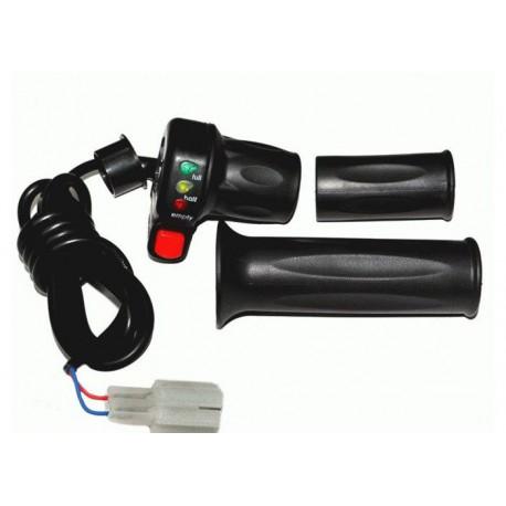 Ручка газа с индикатором заряда 36V и кнопкой круиз-контроля