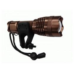 Aккумуляторный светодиодный фонарик фокусируемый с сверхмощным светодиодом