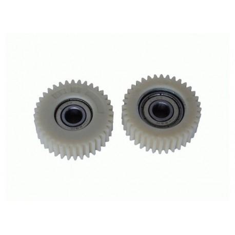 Шестерня для редукторов мотор колес мощностью 250 - 350 w, в сборе с подшипником