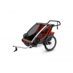 Детская коляска Thule Chariot Cross 2 (Roarange-Dark Shadow)