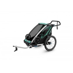 Детская коляска Thule Chariot Lite 1 (Blue Grass-Black)