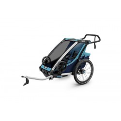 Детская коляска Thule Chariot Cross 1 (Blue-Poseidon)