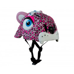 Защитный шлем Crazy Safety Pink Leopard New
