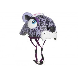 Защитный шлем Crazy Safety Purple Leopard New