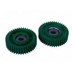 Шестерня для редукторов мотор колес мощностью 500 w, в сборе с подшипником