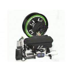 Электронабор со скутерным мотор-колесом 48v-72v1000w в ободе 12``