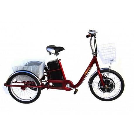 Электровелосипед трехколесный грузовой Volta Хобби